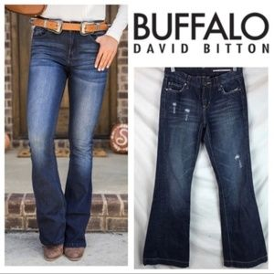 Buffalo David Bitton BEAUTY Low Rise Flare Jeans